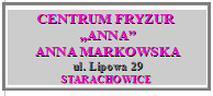 Centrum fryzur Anna Markowska