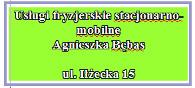 Usługi fryzjerskie ul. Iłżecka 15