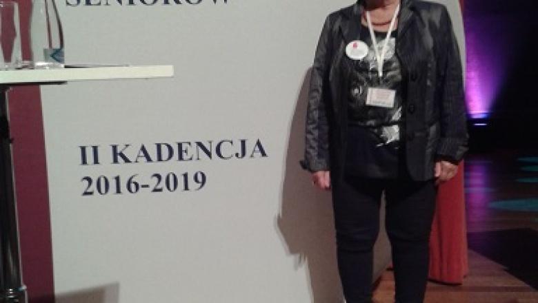 Halina Sidor w Obywatelskim Parlamencie Seniorów