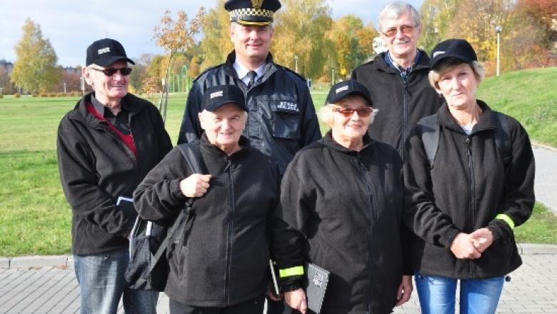 Senior Patrol w Starachowicach z Komendantem Straży Miejskiej