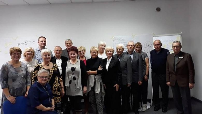 Przedstawiciele Starachowickiej Rady Seniorów